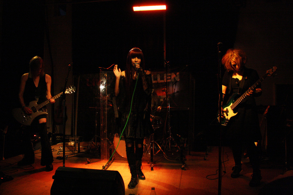 Avalinity Visual Kei Band from Sweden live at Spyken in Lund