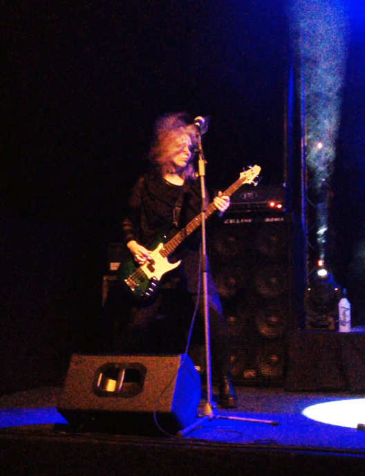 Master K is the bassist of Swedish Visual Kei-band Avalinity